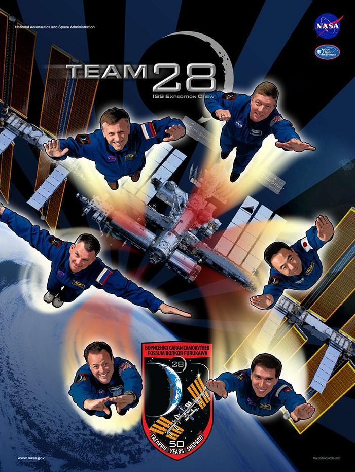 Expedição 28  (Foto: NASA)