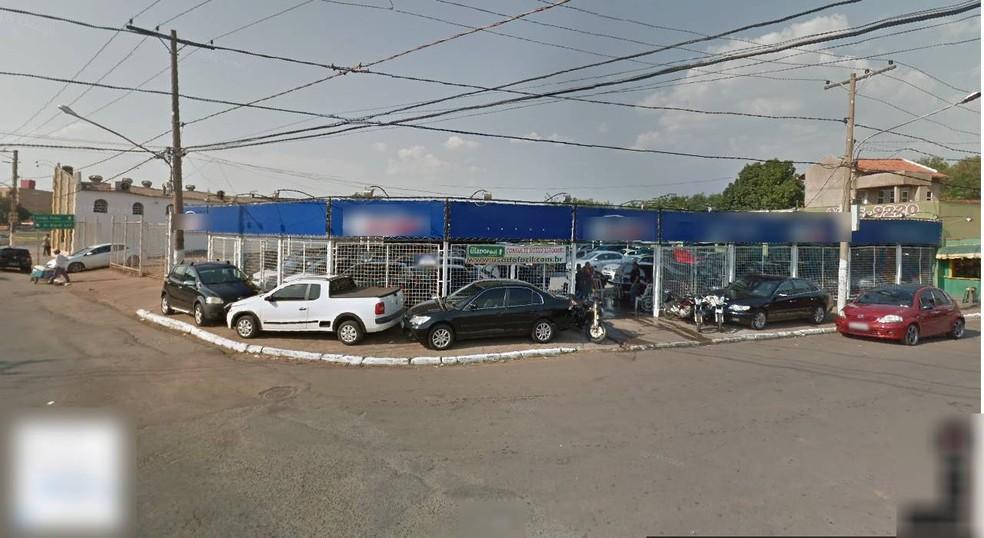 A loja fica na Avenida Dom Orlando Chaves, no Bairro da Manga, em Várzea Grande — Foto: Google Maps