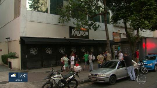 Duas lojas são assaltadas na mesma rua na Tijuca, Zona Norte do Rio, em menos de 24 horas