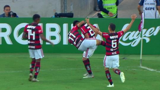 Os gols de Flamengo 3 x 0 Fluminense pela 29ª rodada do Brasileirão