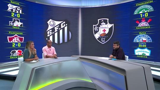 Comentaristas analisam vitória do Santos sobre o Vasco pela Copa do Brasil