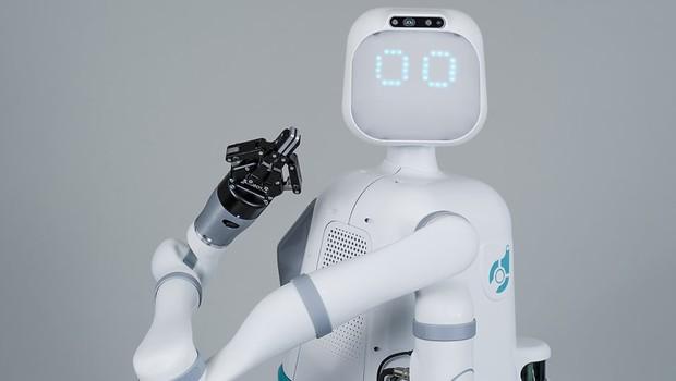 Empresa cria robô que ajuda enfermeiros e faz sucesso com pacientes