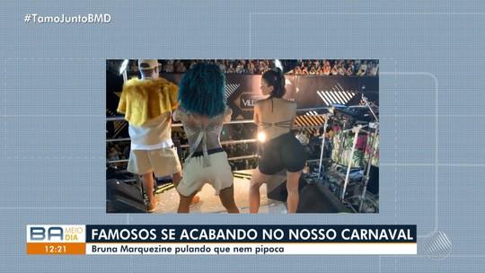 Bruna Marquezine, Gabriel Medina, Neymar e Claudia Raia curtem o carnaval em Salvador