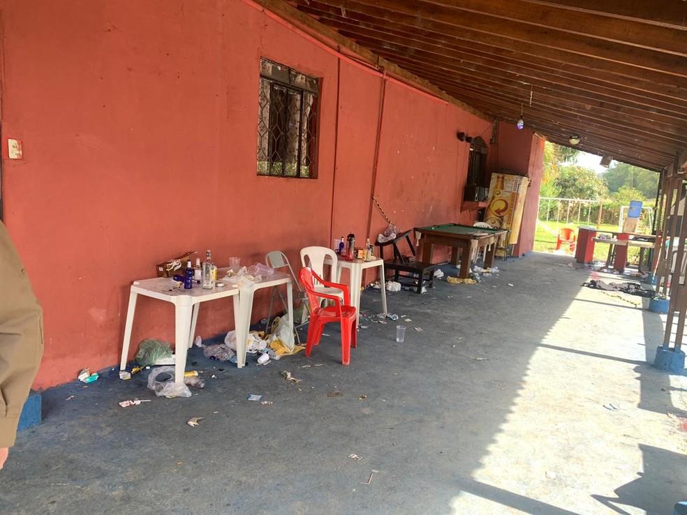 Estudante morreu em baile funk em São Sebastião da Bela Vista (MG) — Foto: Polícia Militar