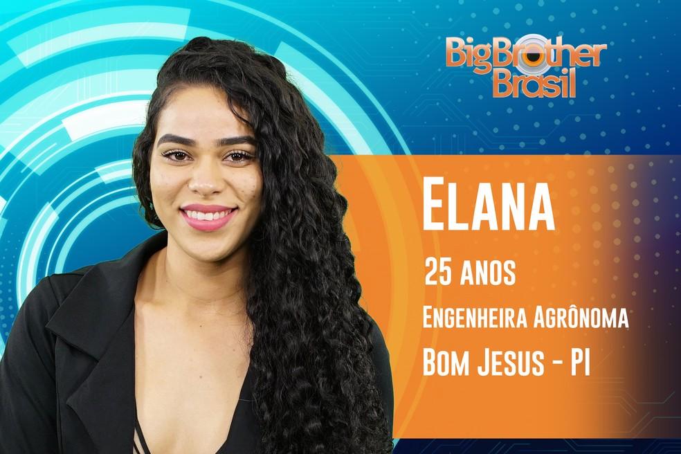 Elana tem 25 anos e é apaixonada por forró — Foto: TV Globo
