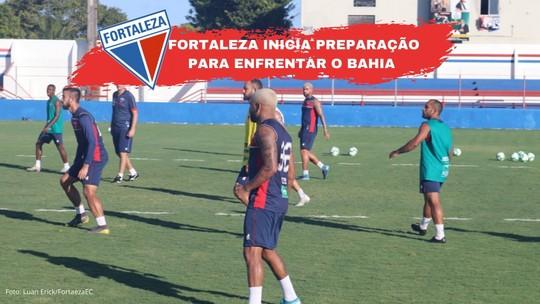 Fortaleza x Bahia: Osvaldo vira dúvida para jogo de domingo; veja prováveis