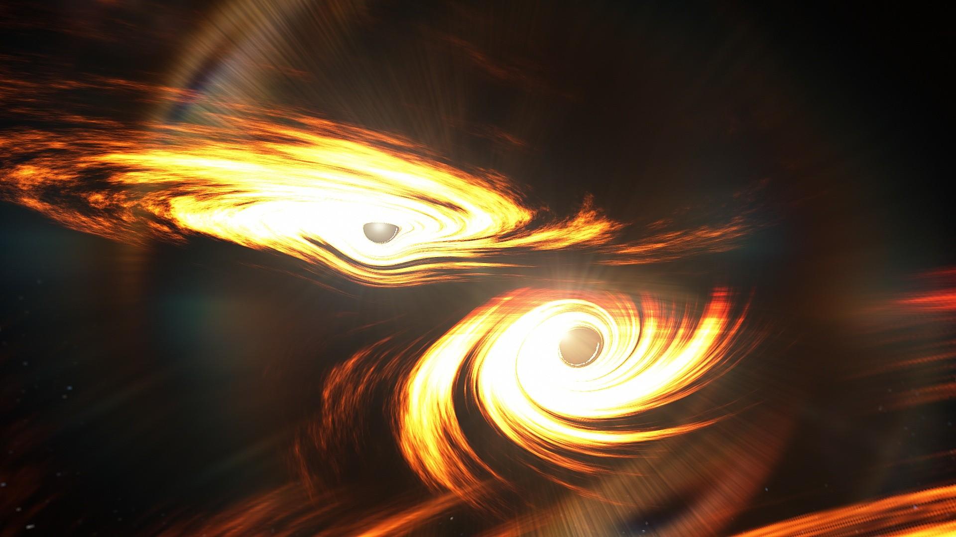 Ondas gravitacionais colocam em xeque teoria sobre formação de buracos negros (Foto: Ligo-Virgo/Caltech/MIT)