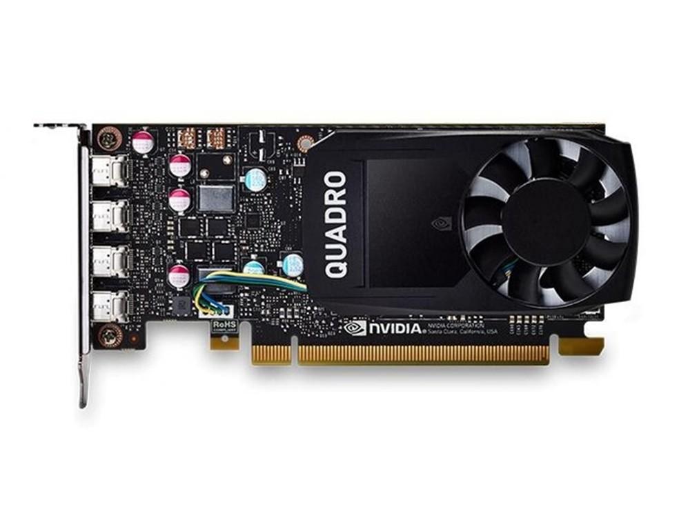 Quadro P620 é uma placa de vídeo profissional da Nvidia. — Foto: Divulgação/ Nvidia