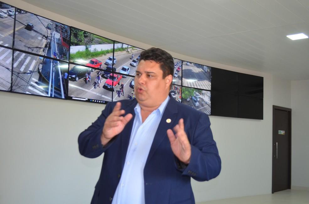 Diretor-presidente da CTMac, André Lima (Foto: Rita Torrinha/G1)