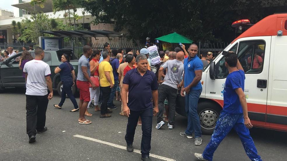 Acidente no Campo Grande — Foto: Ivis Macedo/G1