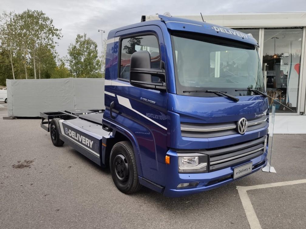 Volkswagen e-Delivery — Foto: André Paixão/G1