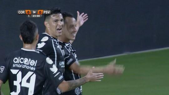 Dentro da área, de primeira: o raio-X dos gols de Rodriguinho no Corinthians