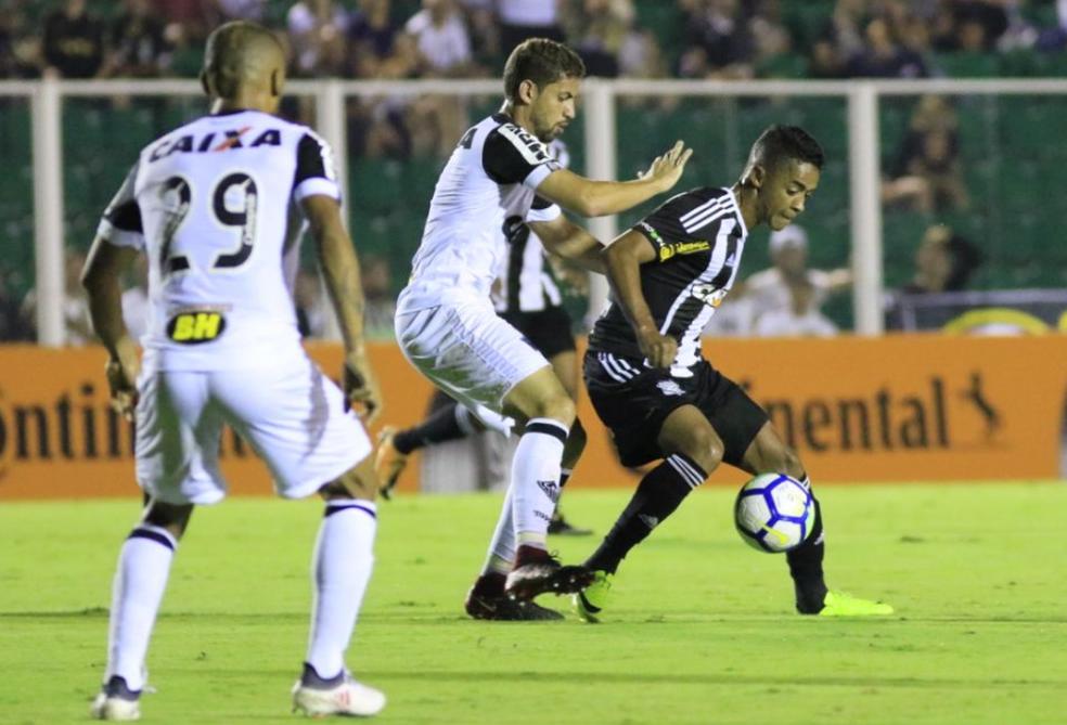 No jogo de ida, o Atlético-MG venceu o Figueirense por 1 a 0 (Foto: Luiz Henrique/Figueirense FC)