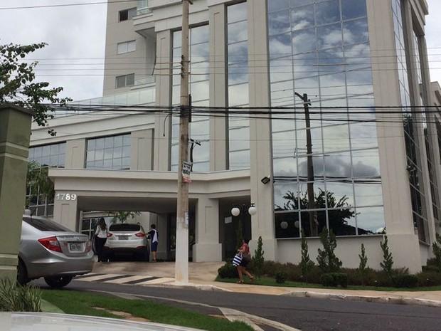 Francisco Faiad, que é ex-secretário de Administração, foi preso na casa dele, em Cuiabá (Foto: Divulgação/Polícia Civil de MT)