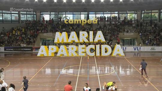 Objetivo PG e Maria Aparecida Araújo são os campeões da 14ª Copa TV Tribuna de Handebol Escolar