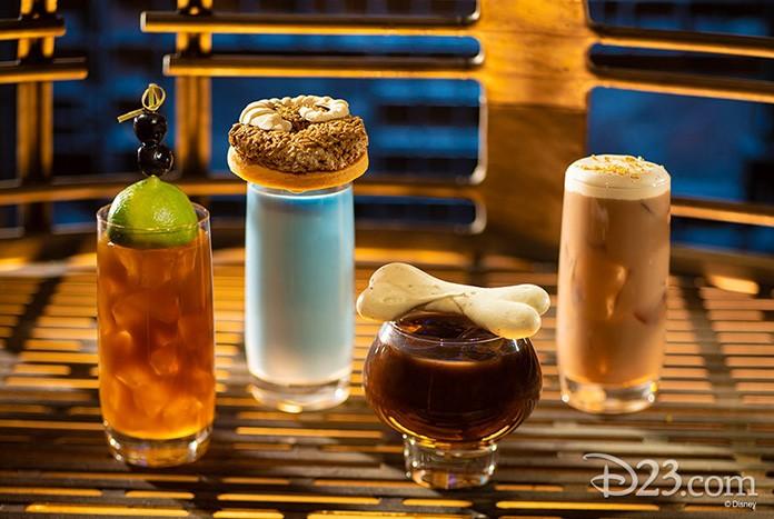 Drinques que serão servidos no Olgas Cantina (Foto: Disney Parks/Divulgação)
