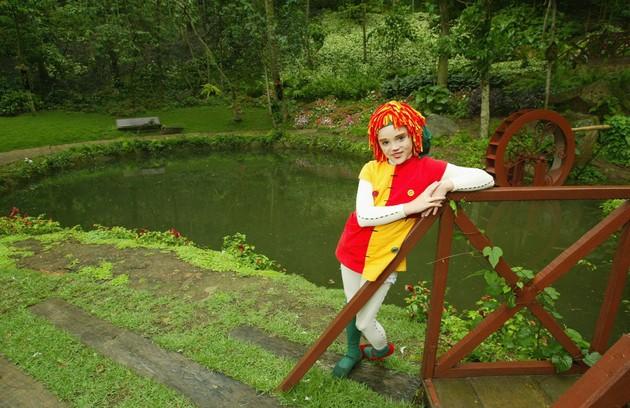 Isabelle Drummond foi a Emília do 'Sítio do picapau amarelo' por cinco anos (Foto: Carlos Ivan)