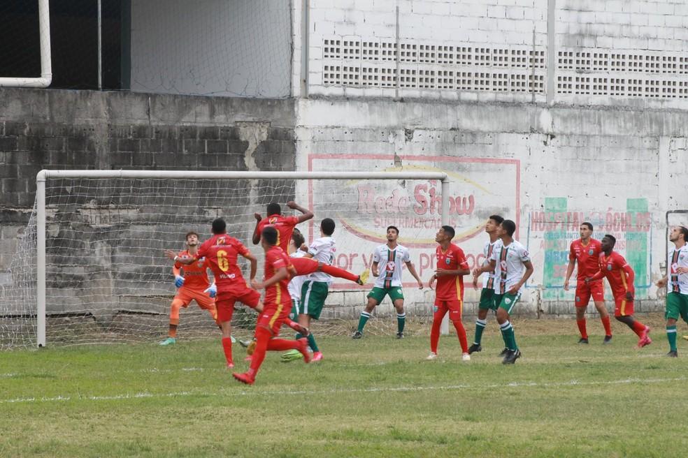 Vilavelhense x Rio Branco VN, pelo Campeonato Capixaba Sub-20 — Foto: Vilavelhense FC