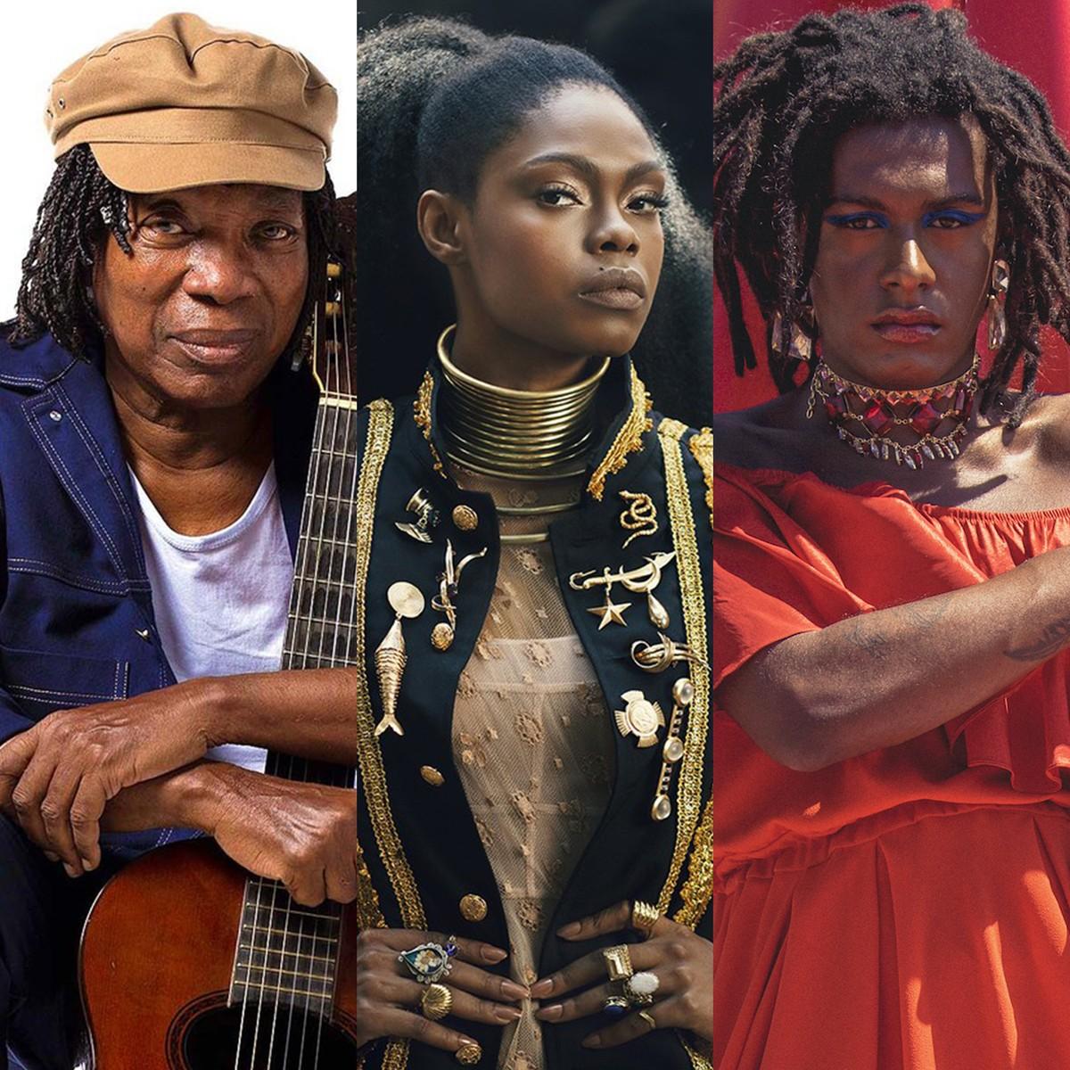 Lives de hoje: Milton Nascimento, Xênia França e Liniker, Atitude 67, Jorge Aragão e mais shows
