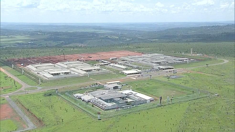 Complexo Penitenciário da Papuda, no Distrito Federal  — Foto: TV Globo/Reprodução