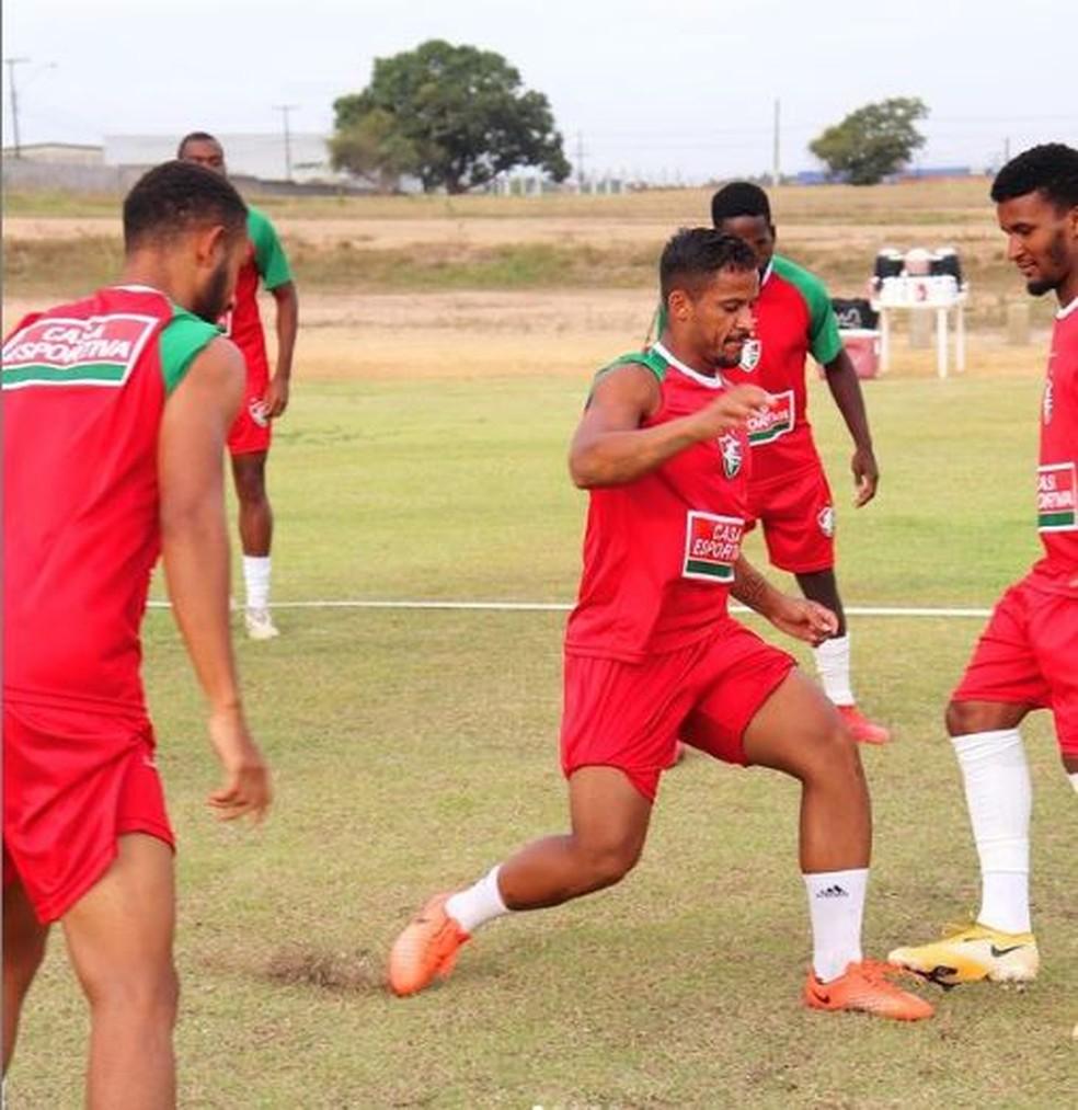 Fluminense de Feira treina em Feira de Santana — Foto: Reprodução / Instagram