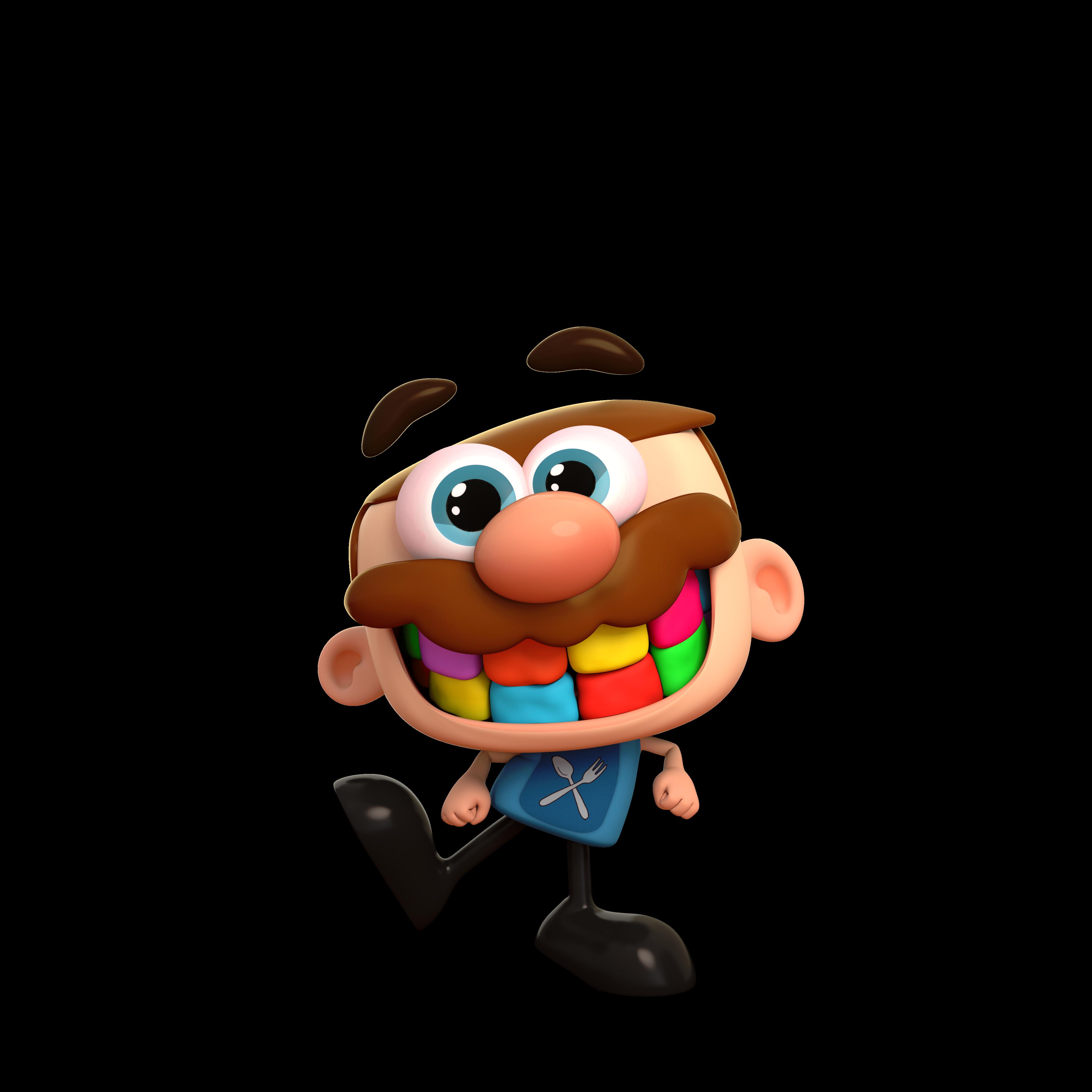 O personagem José Comilão, da TotoyKids