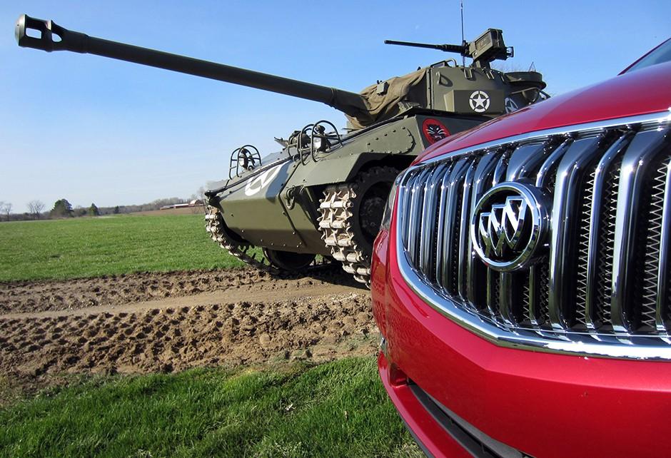 Tanque da Segunda Guerral foi produzido pela Buick (Foto: Divulgação)