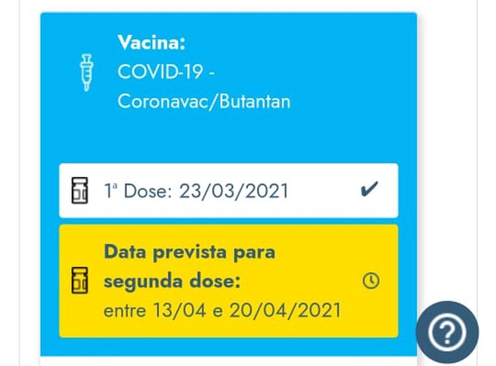 RN+ Vacina não registra aplicação da segunda dose de José Rogério — Foto: Cedida