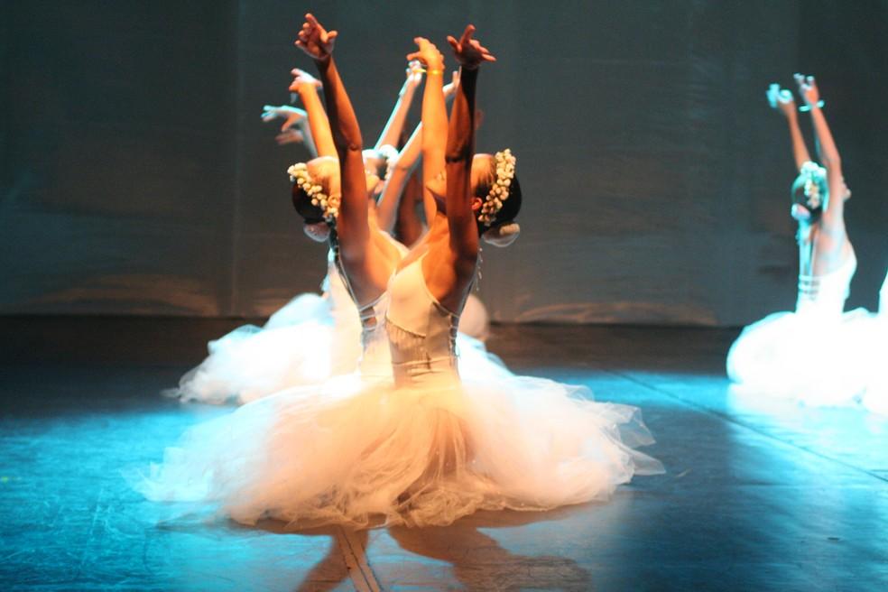 Curso de balé é um dos que está disponível — Foto: Elias Oliveira/Prefeitura de Palmas
