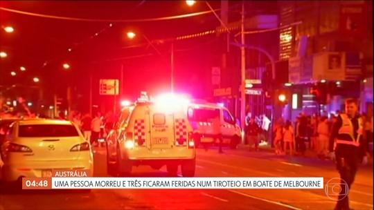 Tiroteio em Melbourne, na Austrália, deixa um morto e três feridos