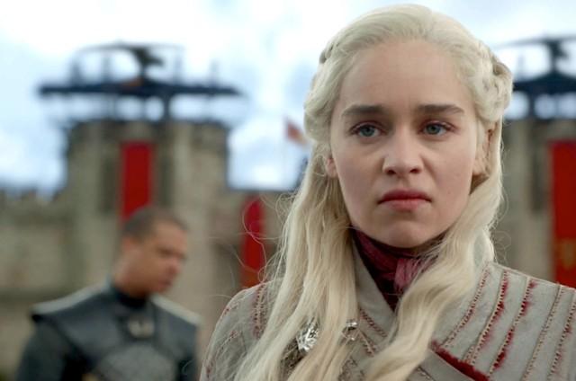 Emilia Clarke em cena como Daenerys no quarto episódio da oitava temporada de 'Game of Thrones' (Foto: HBO)