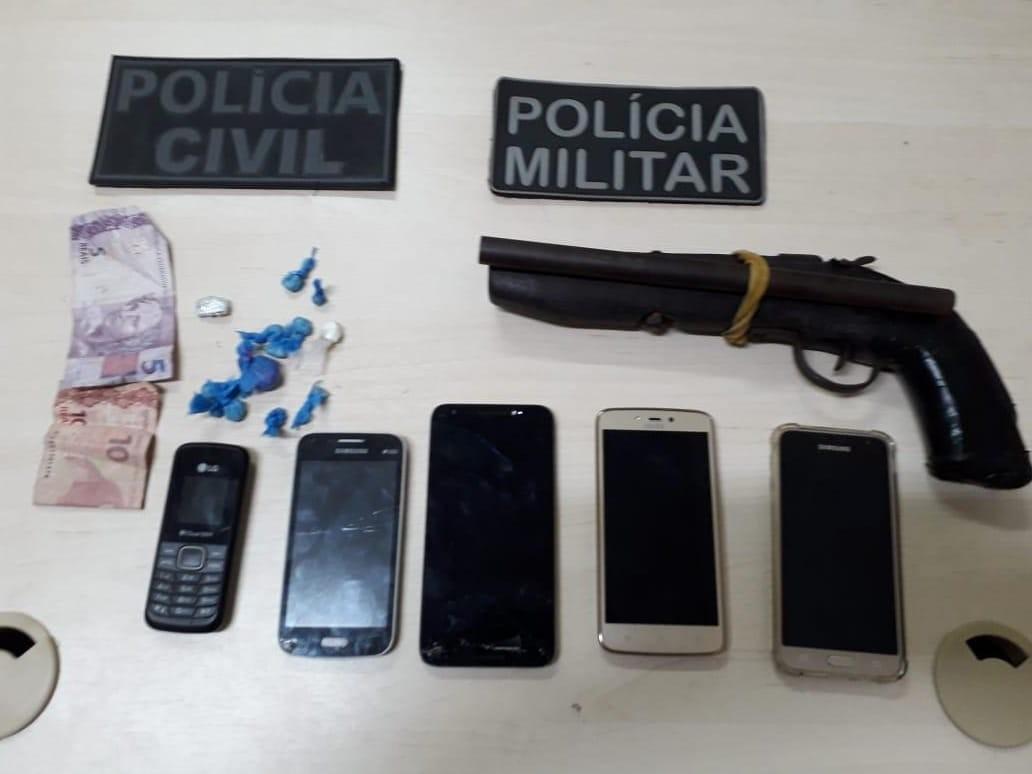 Operação policial prende suspeitos de tráfico de drogas em Baião, no Pará