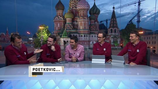 Petkovic faz mais um poema e homenageia equipe do SporTV