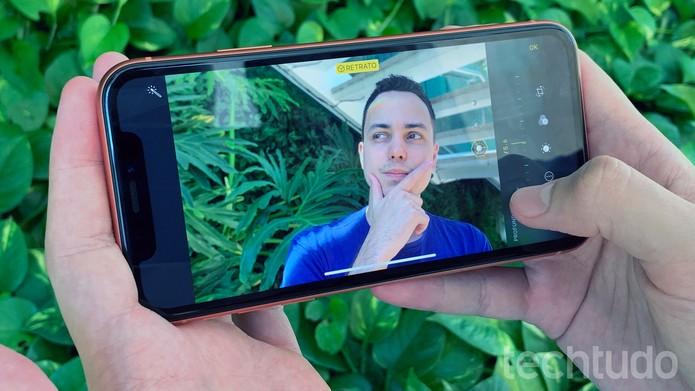 iPhone XR (Foto: Bruno De Blasi/TechTudo)