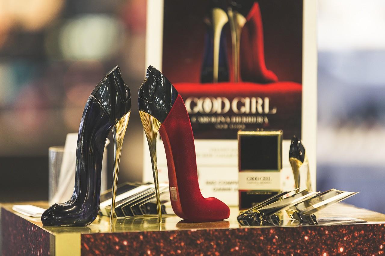 A edição de colecionador do perfume Good Girl Collector Edition Velvet Fatale (Foto: Leo Orestes)