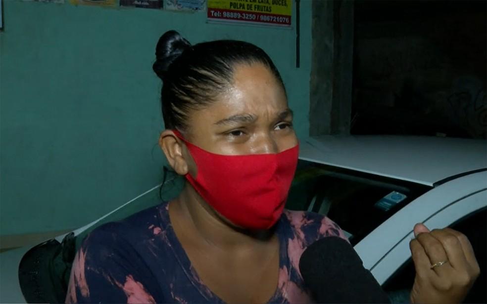 Fernanda Evangelista perdeu a irmã sete meses após filho ser morto em caso semelhante — Foto: Reprodução/TV Bahia