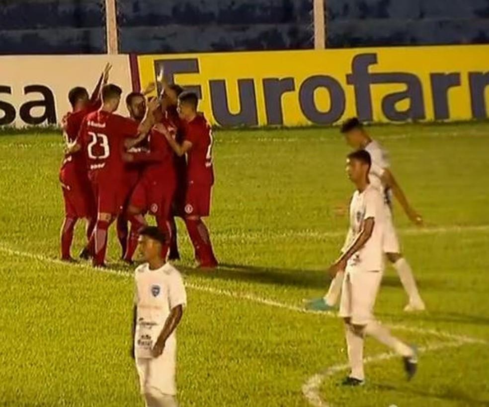 Após três vitórias em três jogos na primeira fase, Inter fica no Brenão (Foto: Reprodução)