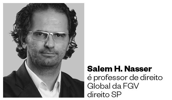 Salem H. Nasser é professor de direito global da FGV direito SP (Foto: Arquivo pessoal)