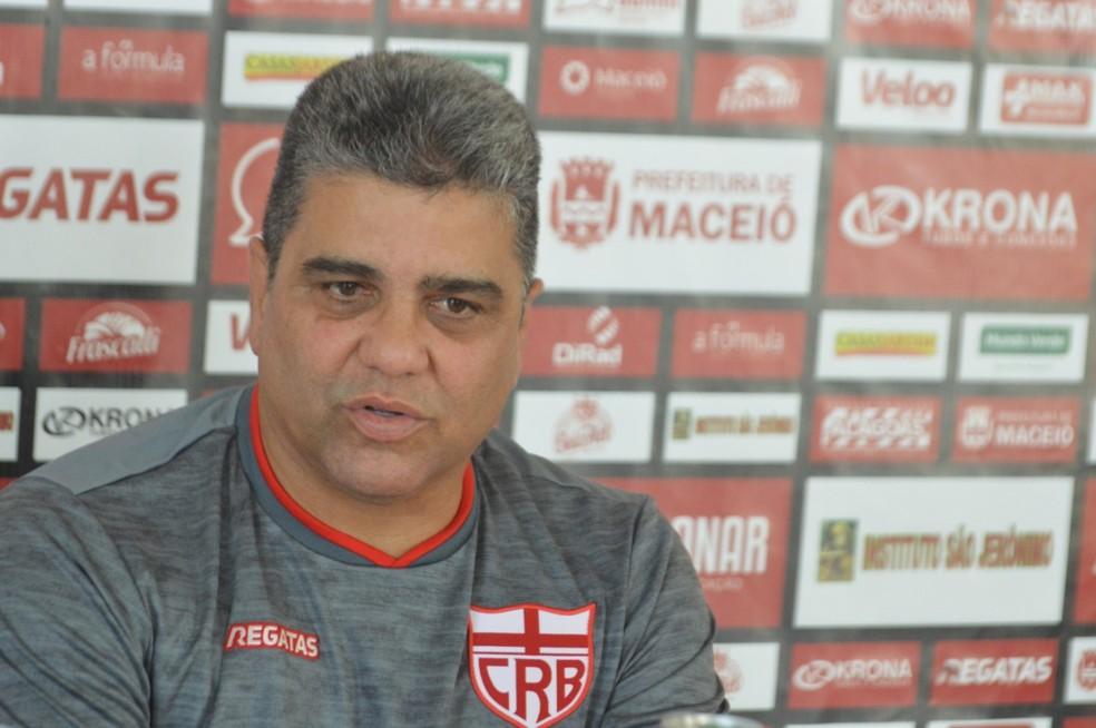 Marcelo Cabo estreou pelo CRB com um empate — Foto: Divulgação/Ascom CRB
