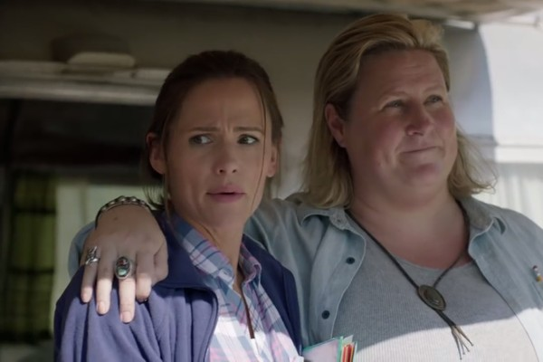 A atriz Jennifer Garner no trailer de Camping (Foto: YouTube)
