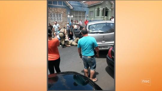 'A gente depende de um milagre', diz irmã de vítima atropelada no Centro de Lages