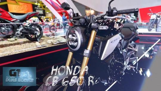 Salão Duas Rodas começa com motos de heróis e nova CB 650 R