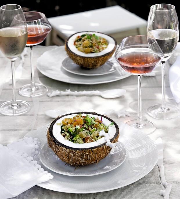 Salada de quinua real (Foto: Cacá Bratke / Editora Globo)