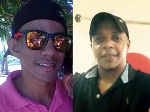 Genes Moreira dos Santos Júnior (à esquerda) e Marciano Cardoso Mendes (à direita) (Foto: Arquivo pessoal)