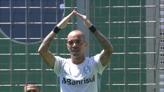 Ex-Atlético-MG, Diego Tardelli marca para o Grêmio no Independência e provoca Cruzeiro