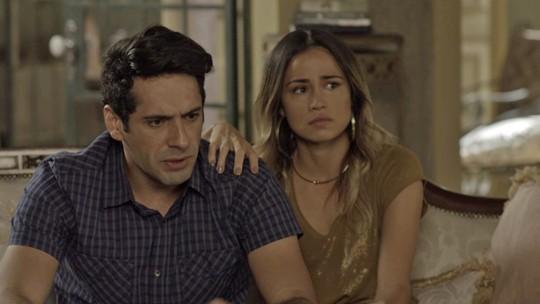Agnaldo, Júlio e Sandra Helena temem por Malagueta
