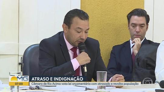 Câmara de Rio Acima, na Grande BH, vota orçamento após seis meses de atraso