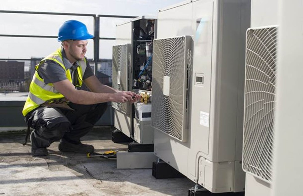 O ideal é que o sistema de ventilação incorpore a maior quantidade possível de ar fresco — Foto: Getty Images via BBC