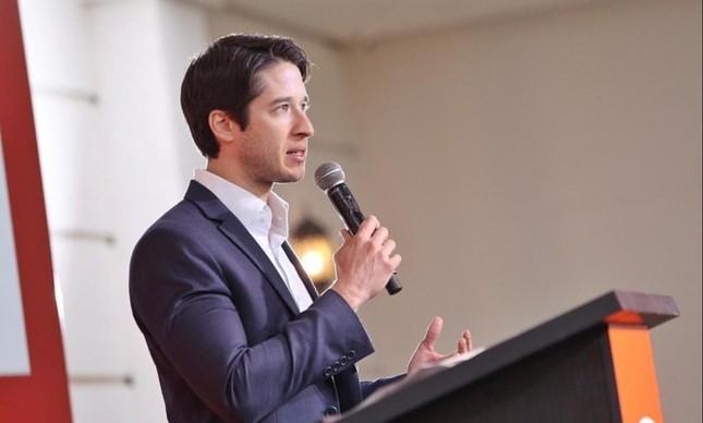 O presidente do movimento de empresários pró-Bolsonaro, o Brasil 200, Gabriel Kanner