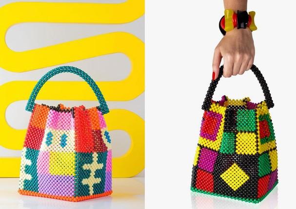 As bolsas da coleção Jamaïque, uma parceria da Wai Wai e Betina de Luca (Foto: Reprodução/Instagram)